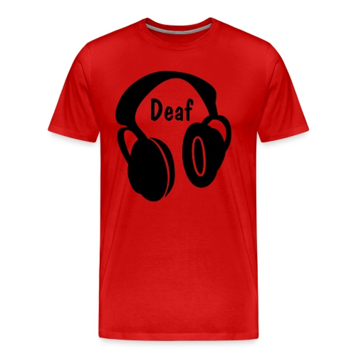Deaf Sample - Men's Premium T-Shirt