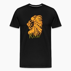 Black Lion Roar T-Shirts (Short sleeve)