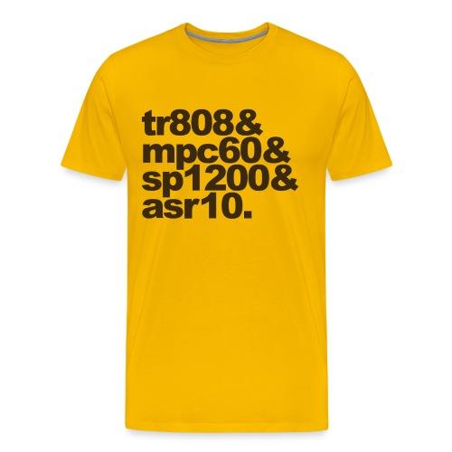 Ode to Drum Machines - Men's Premium T-Shirt