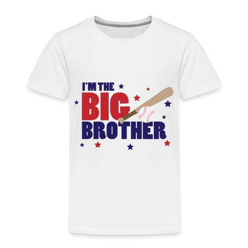 BIG BROTHER-toddler tee - Toddler Premium T-Shirt