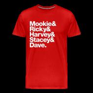 T-Shirts ~ Men's Premium T-Shirt ~ 1987-1988 Oklahoma Sooners