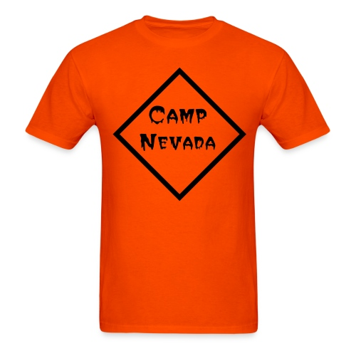 Camp Nevada, Front Logo Only - Men's T-Shirt
