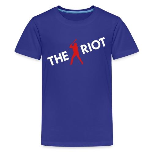 THE RIOT v2 (kids) - Kids' Premium T-Shirt