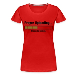 Prayer T-Shirt Plus Size - Women's Premium T-Shirt