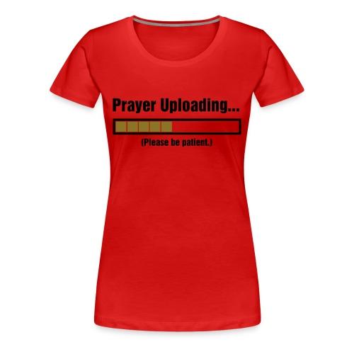 Prayer T-Shirt Plus Size - Women's Premium T-Shirt