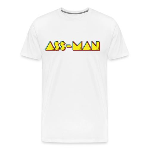 Ass-Man (Men) - Men's Premium T-Shirt