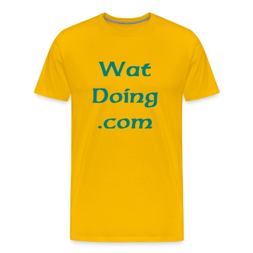 WatDoing Shirt II - Men's Premium T-Shirt