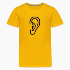 Yellow ear Kids Shirts