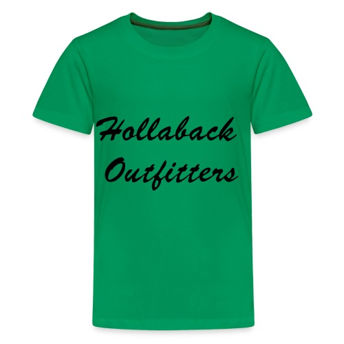 Kid's Hollaback Outfitters Tee - Kids' Premium T-Shirt
