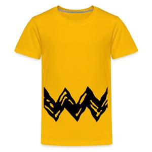 CHARLIE BROWN Costume for Kids - Kids' Premium T-Shirt