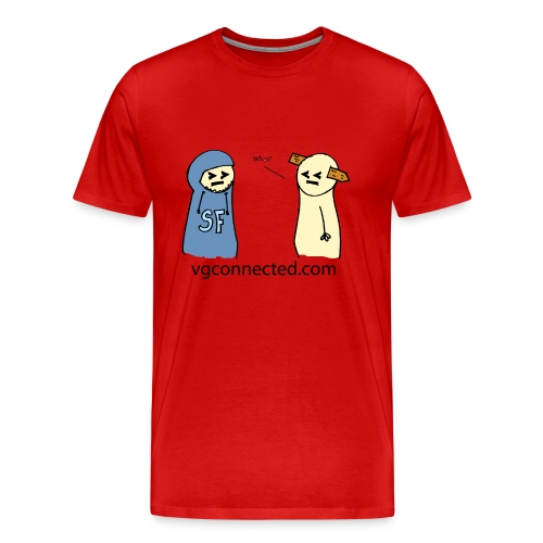 SF Dude and Spike Man Red - Men's Premium T-Shirt