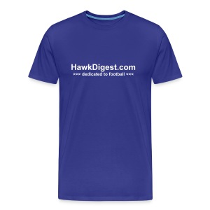 HawkDigest Dedicated - Men's Premium T-Shirt