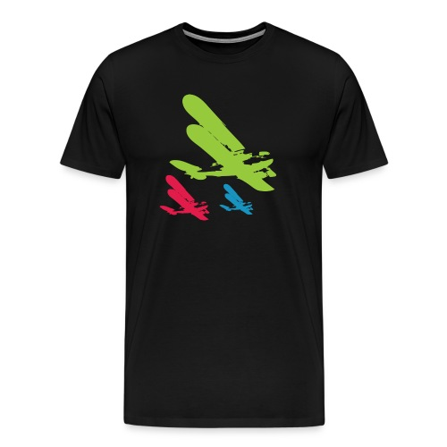 Retro Jets Vintage Tee - Men's Premium T-Shirt
