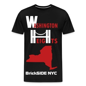 Washington Heights BrickSIDE NYC - Men's Premium T-Shirt