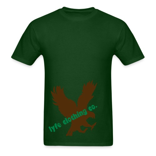 lyfe logo green - Men's T-Shirt