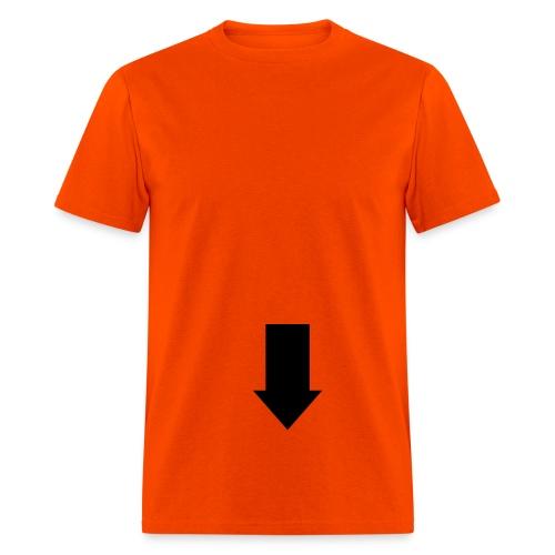 paw -purpple - Men's T-Shirt