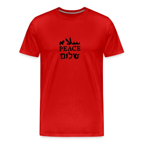 Peace-vector - Men's Premium T-Shirt