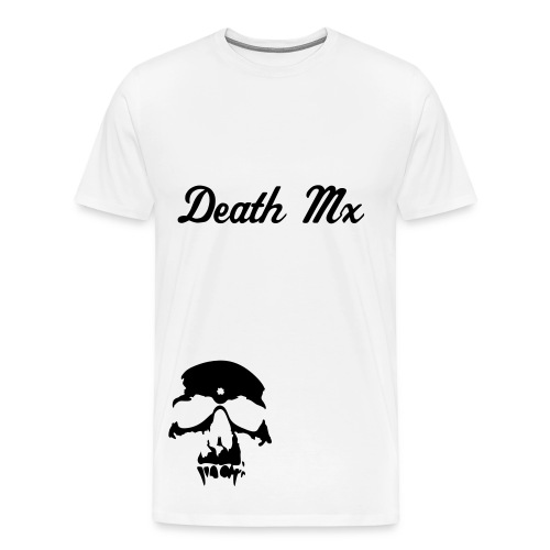 death mx skull - Men's Premium T-Shirt