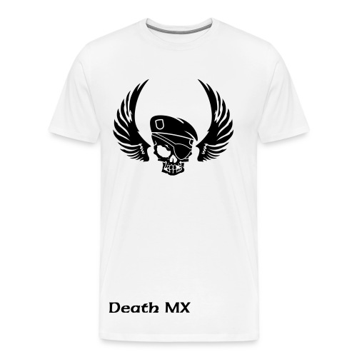 Death Mx caption - Men's Premium T-Shirt