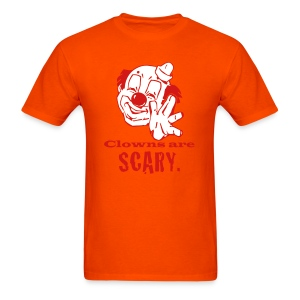 Clowns Are Scary - MHW - Men's T-Shirt