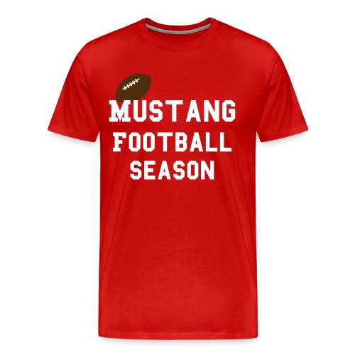 Football Season Juniors - Men's Premium T-Shirt