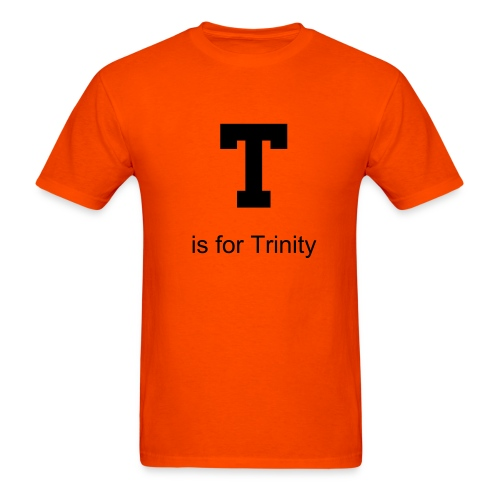 T is for Trinity - Men's T-Shirt