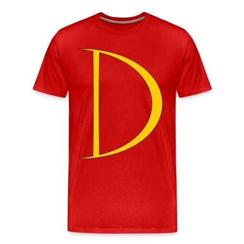 Captain Dynamo Logo Tee (XXXL) - Men's Premium T-Shirt