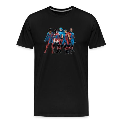 Dynamo 5 Team 2 Tee (XXXL) - Men's Premium T-Shirt