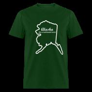 T-Shirts ~ Men's T-Shirt ~ Alaska - No Crackheads Here