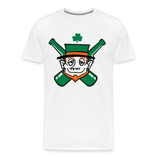 Drunk Irish Leprechuan Shirt - Men's Premium T-Shirt