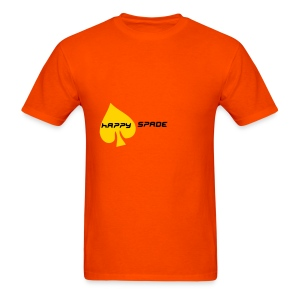 happySPADE tee - Men's T-Shirt