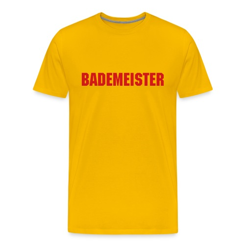 BADEMEISTER - german Lifeguard t-shirts - Men's Premium T-Shirt