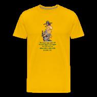 T-Shirts ~ Men's Premium T-Shirt ~ Remain Silent