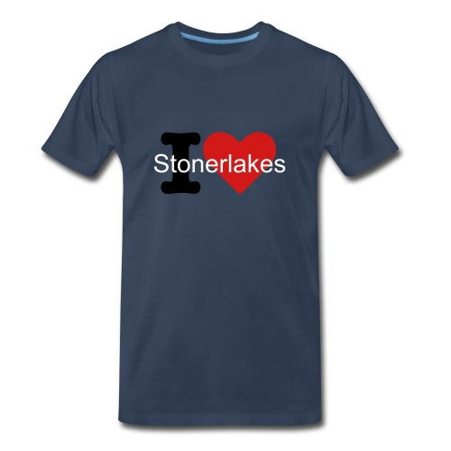 I Love Stonerlakes - Men's Premium T-Shirt