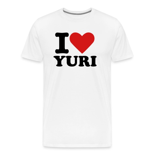 I Love Yuri - Men's Premium T-Shirt