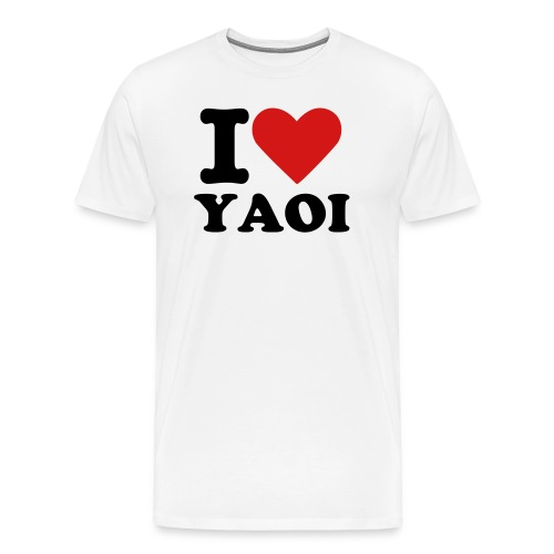 I Love Yaoi - Men's Premium T-Shirt