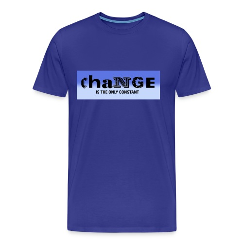 Change is the only constant - Men's Premium T-Shirt