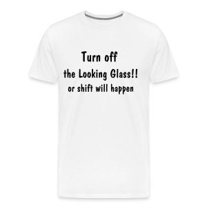 the Looking Glass - Men's Premium T-Shirt