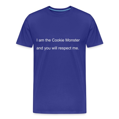 Cookie Monster - Men's Premium T-Shirt