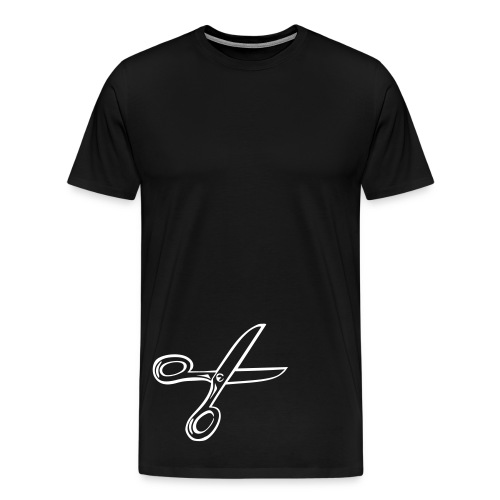 Spread your Wings and Shears - Men's Premium T-Shirt