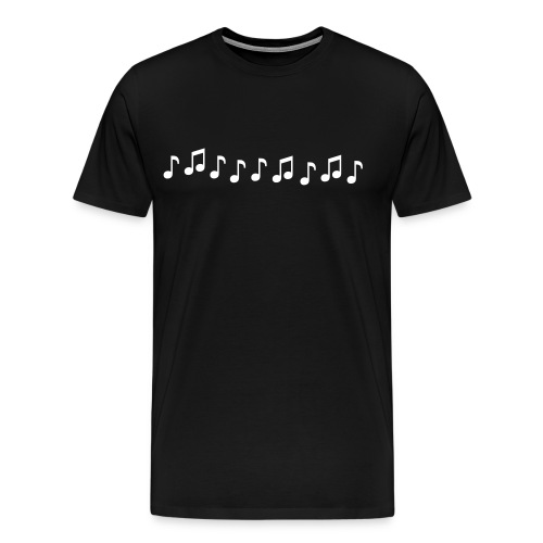 Musical Note T-Shirt - Men's Premium T-Shirt
