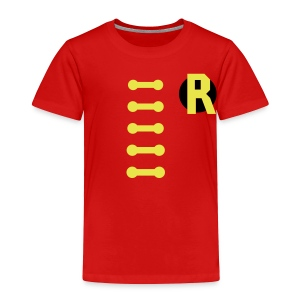 BOY WONDER COSTUME - Toddler Premium T-Shirt
