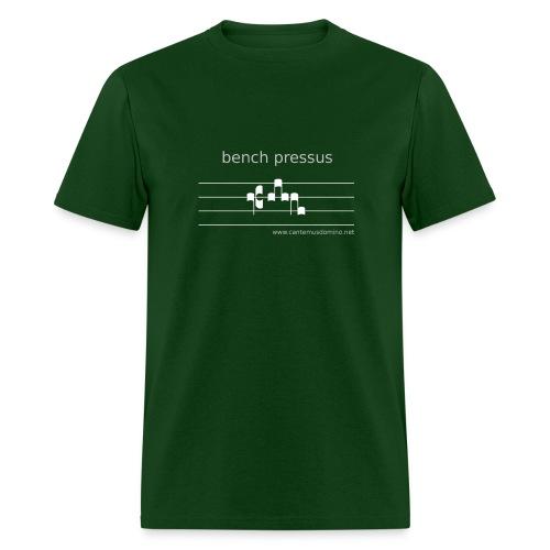 Bench Pressus (Dark) - Heavyweight Tee - Men's T-Shirt