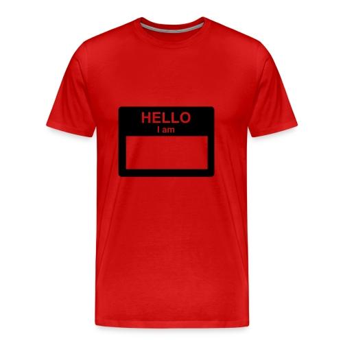 same shirt  - Men's Premium T-Shirt