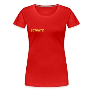 SCHNITZ WOMEN'S PLUS SIZE BASIC TEE - Women's Premium T-Shirt