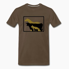 Chocolate jobs_veterinary T-Shirts (Short sleeve)