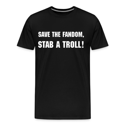 Save The Fandom! - Men's Premium T-Shirt