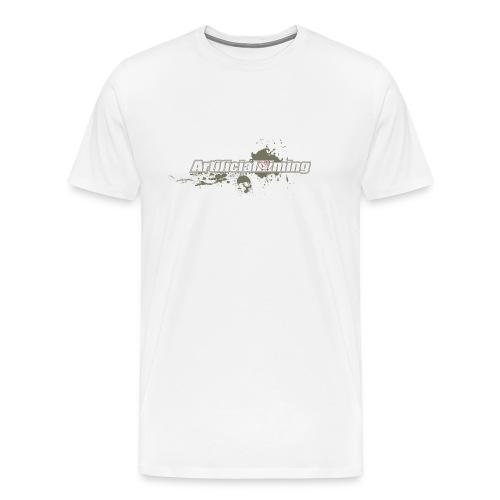 ArtificialSkull T white - Men's Premium T-Shirt