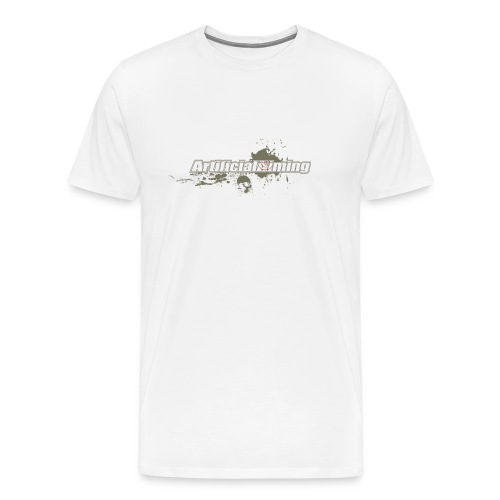 ArtificialSkull T white - Men's Premium T-Shirt