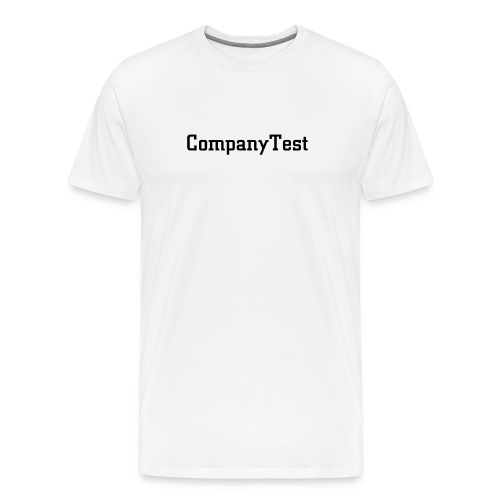 CompanyTest1 - Men's Premium T-Shirt